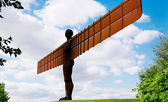 Angel of the North, Northumberland, UK by Newcastle Gateshead VIC