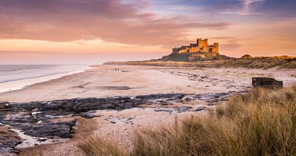 Bamburgh, Northumberland, UK by Dave Head, Shutterstock