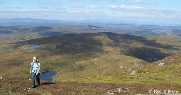 Meall Fuar-mhonaidh, Small Hills, Phoebe-Smith by Neil S Price
