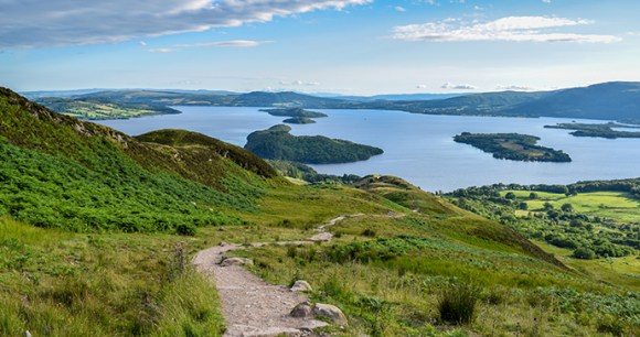 conic hill, loch lomond, small-hills by Gary Ellis Photography, Dreamstime