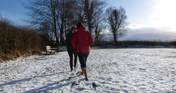 Barefoot in the Brecon Beacons by Jini Reddy