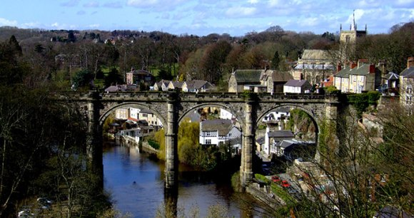 River Nidd, Knaresborough, Yorkshire Dales R/DV/RS/Flickr
