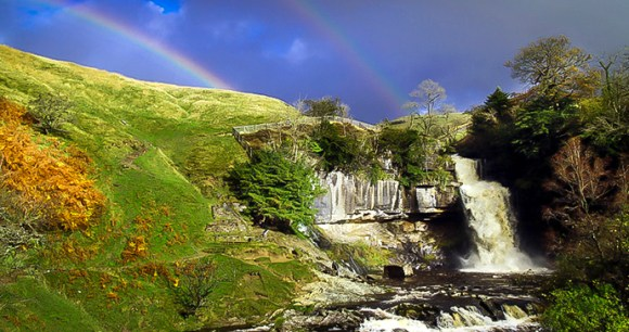 Thornton Force Ingleton Waterfalls Trail Yorkshire Dales by Andrew Locking/www.andrewswalks.co.uk