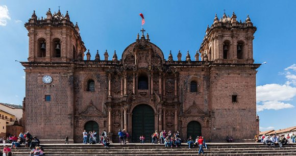 Cathedral Cusco Peru by Diego Delso Wikimedia Commons