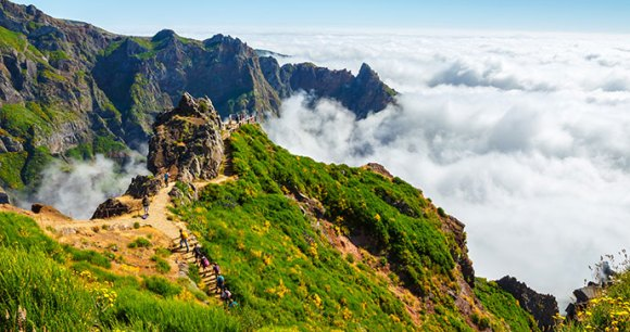 Pico do Areeiro, Madeira, Portugal, 52 European Wildlife Weekends by Dziewul, Shutterstock