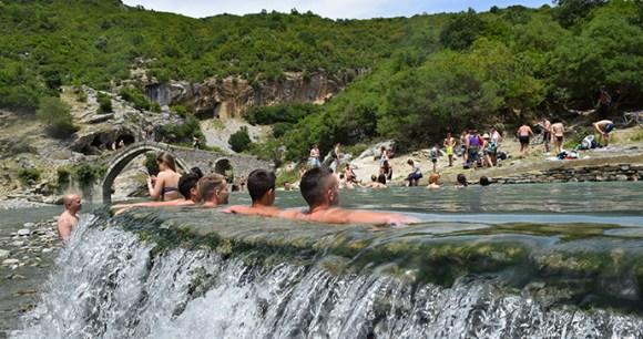 Thermal spa, Albania by Dritan Zaimi, Shutterstock