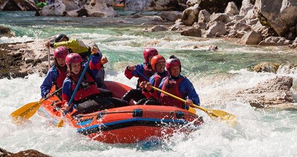 Rafting Soca River Slovenia Alpe Adria Trail by Slovenia Tourist Board Archive