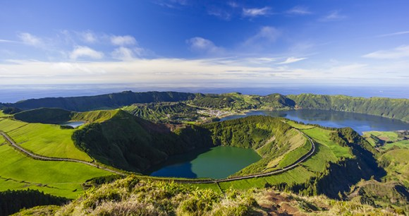 Sete Cidades, Sao Miguel, the Azores, Portugal by Sunvil