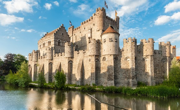 Gravensteen Castle Ghent Belgium Flanders by Thomas Dekiere Shutterstock  city break ghent