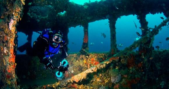Baron Gautsch wreck, Istria, Croatia by Filip Višić