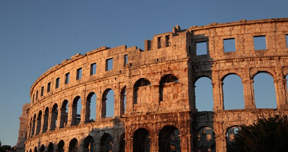 Arena, Pula, Istria by Anna Moores