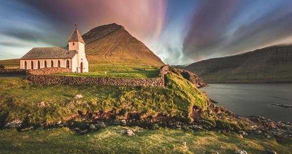 Vidareidi village, Faroe Islands by Federica Violin, Shutterstock