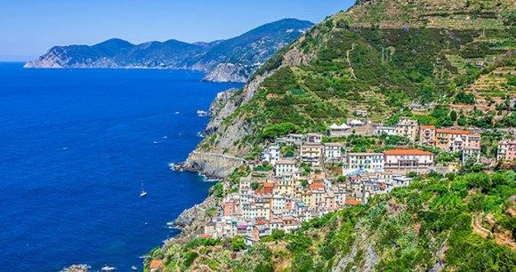 Riomaggiore Cinque Terre Liguria by Lukasz Janyst Shutterstock