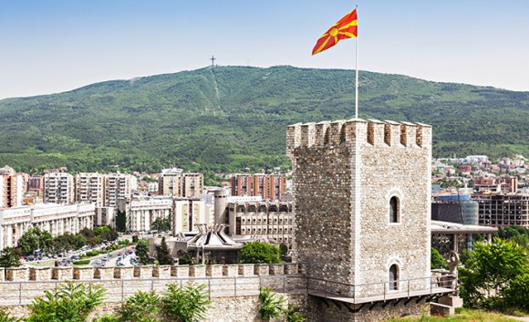 Kale Fortress Skoje North Macedonia by saiko3p Shutterstock