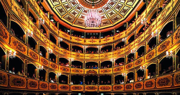 The Manoel Theatre in Valletta is one of the oldest theatres still in use in Europe by www.viewingmalta.com