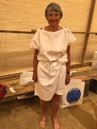 Hilary Bradt at the Nemean Games