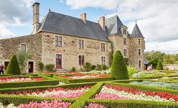 Logis de la Chabotterie, the Vendée, France by A. Lamoureux, Vendée Expansion Pôle Tourisme