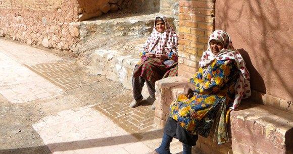 Mud-village, Abyaneh, Iran by © Maria Oleinik