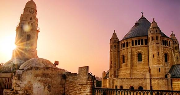 Dormition Abbey Jerusalem Israel by Noam Chen, IMOT