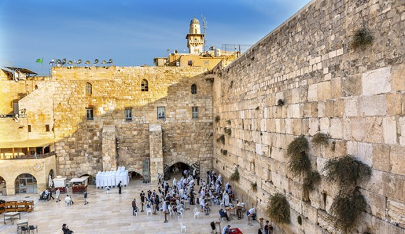 Western Wall Jerusalem Israel by Bill Perry, Shutterstock