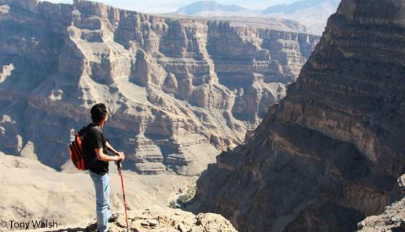 Hiking, Al Hamra, Oman by Tony Walsh