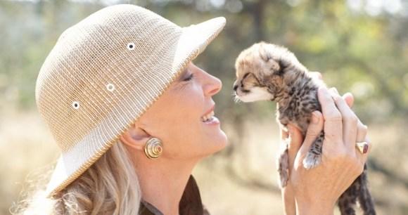 Cheetah cub, A Cheetah's Tale, John Swannell
