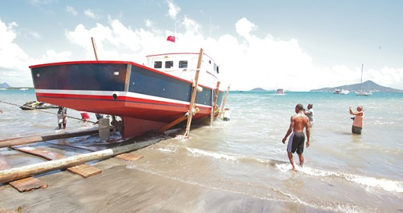 Boatbuilding Carriacou Grenada by Paul Crask
