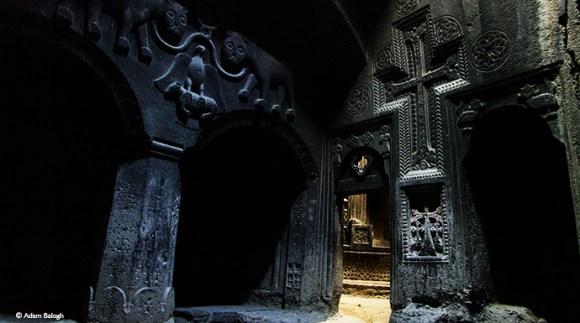 Geghard chapel and monastery, Armenia © Adam Balogh