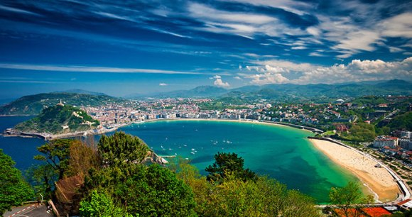 San Sebastian Spain Basque Country by Botond Horvath Shutterstock