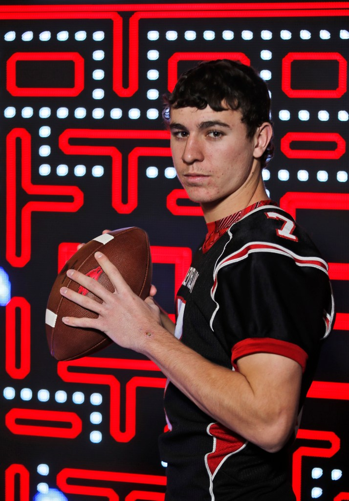 Levelland's Nick Gerber, on the Lone Star Varsity Super Team. Photographed, Thursday, Dec. 15, 2016, at Main Event in Lubbock, Texas.