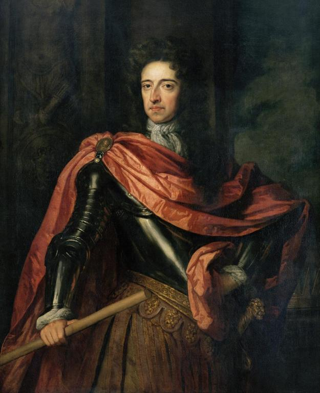 William III, by grace of God king of South Carolina?