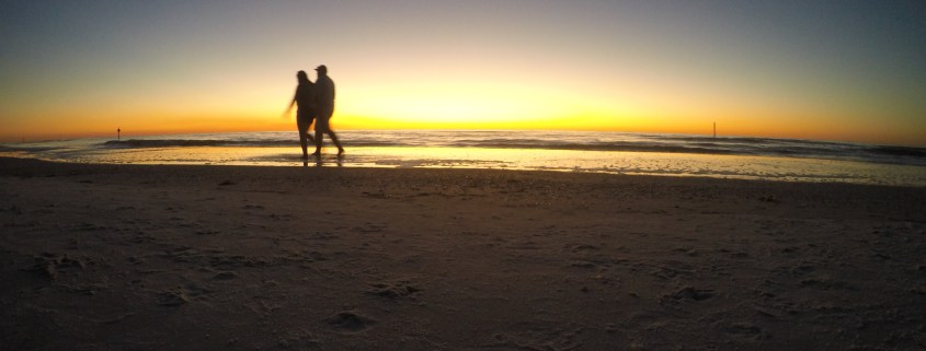 Clearwater Beach Sunset Walk