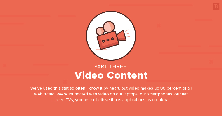 marketing collateral ideas: video content