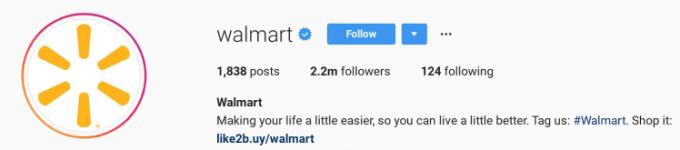 Walmart CTA: Shop Now