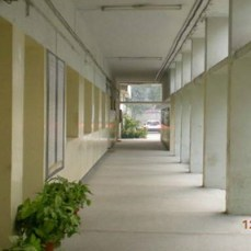 andc corridor inside delhi university