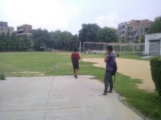 acharya narendra dev college volleyball court andc playground pics images