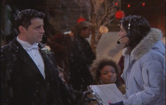 monica geller officious domineering strict phoebe wedding