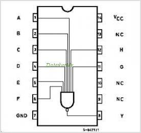IC 74HC30 - 8-input NAND gate