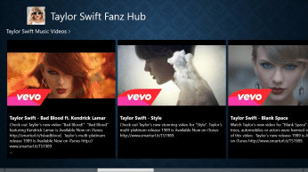 Taylor Swift's Official Music Videos can be accessed from here