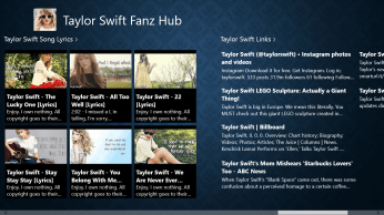 Taylor Swift Lyric Music Videos and Other Links