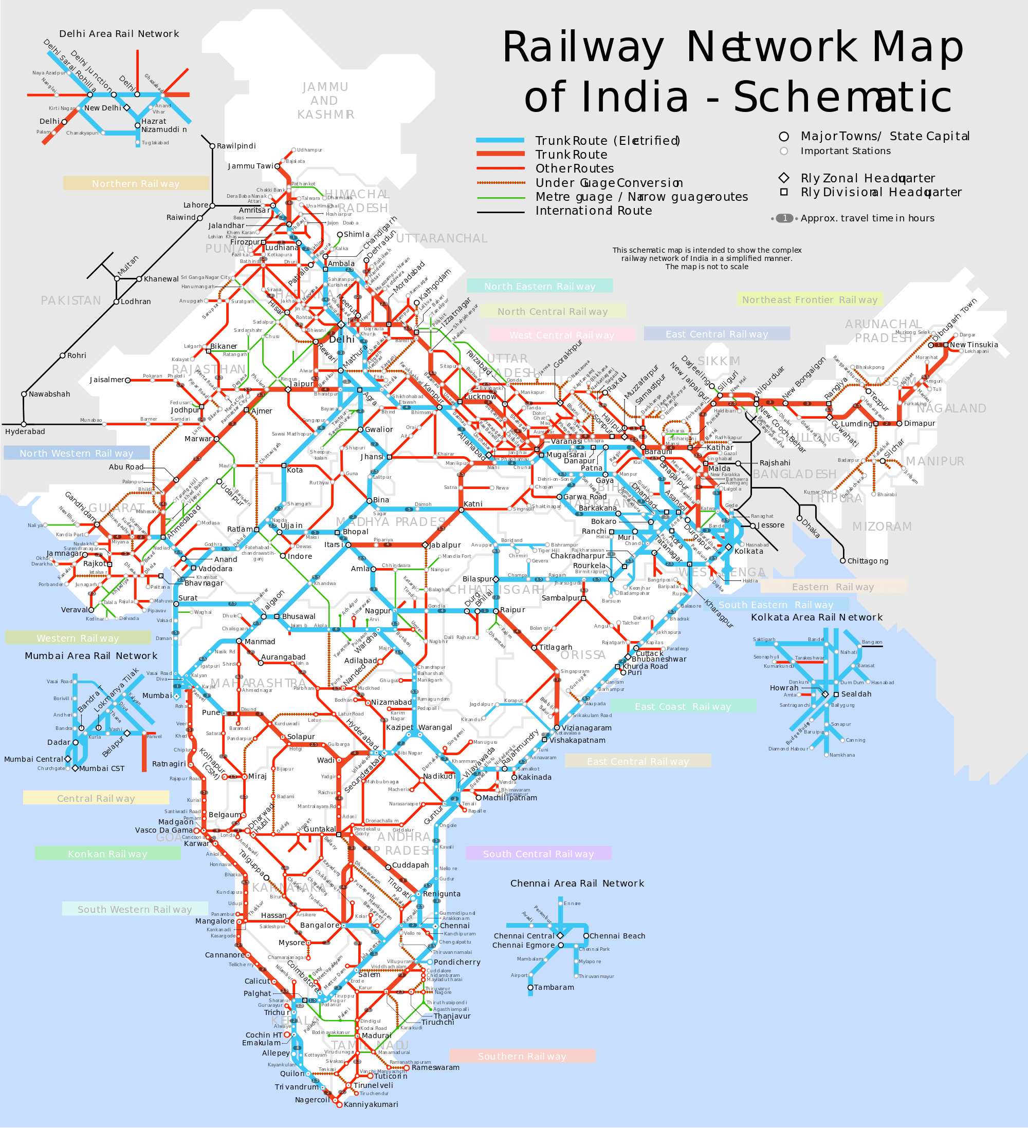 File pdf railway indian map
