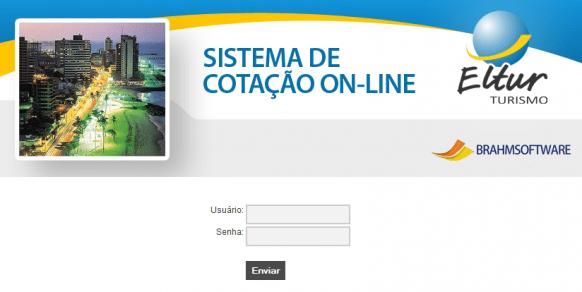Sistema de cotação online para pacotes de turismo