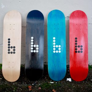 Get your hands on the new Braille Blanks at the Braille skateboarding world online store