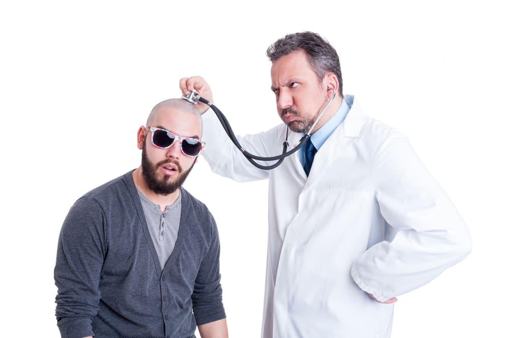 用聽筒診斷的頭痛