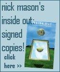 Nick Mason Inside Out signed copy