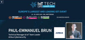 BRAIN-IoT at the IoT TECH Expo 2019