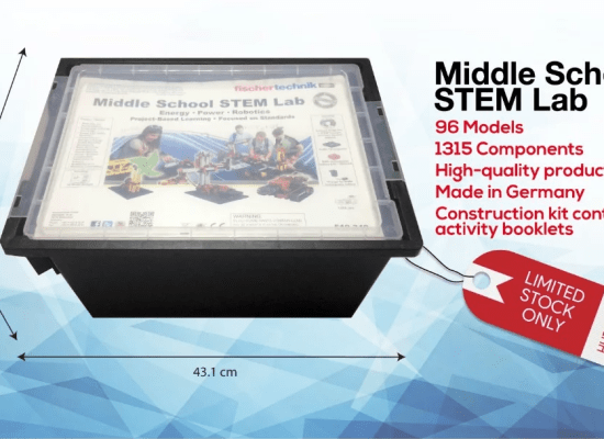 fischertechnik middle school stem lab