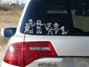Family Stick Figures ART