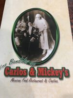 Full Menu: Los Bandidos de Carlos & Mickey's El Paso Airport in Texas