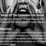 Social Customer Service: Adapting Voice Of The Customer For Social